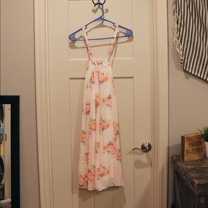 nymphe LA strappy floral dress